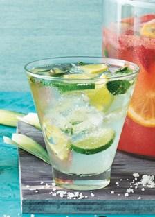 Receta de bebida de limón y mezcal