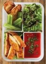 Receta de pollo frito con salsa de jitomate
