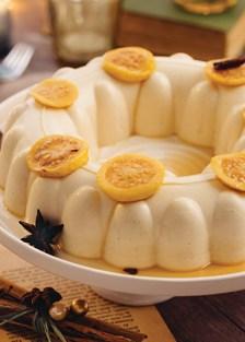 receta de gelatina cremosa de guayaba y canela