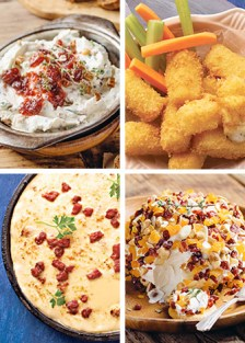 recetas de botanas con queso