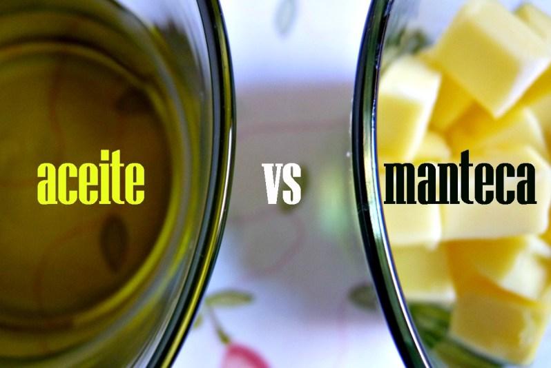 Aceite vs manteca