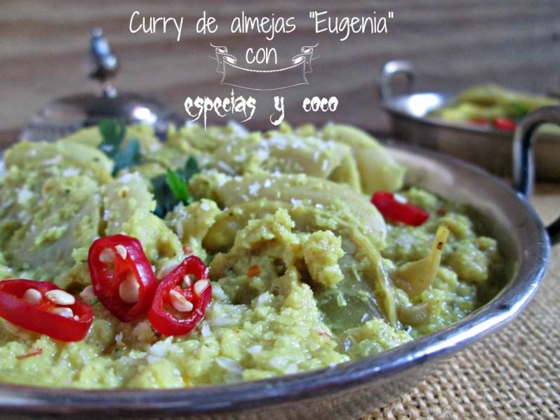 """Curry de almejas """"Eugenia"""" con especias y coco"""