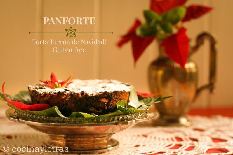 Panforte: Torta Turrón de Navidad! Gluten free.