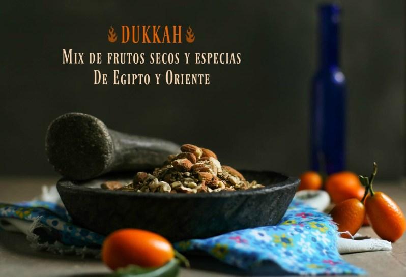 DUKKAH: mix de frutos secos y especias. De Egipto y Oriente