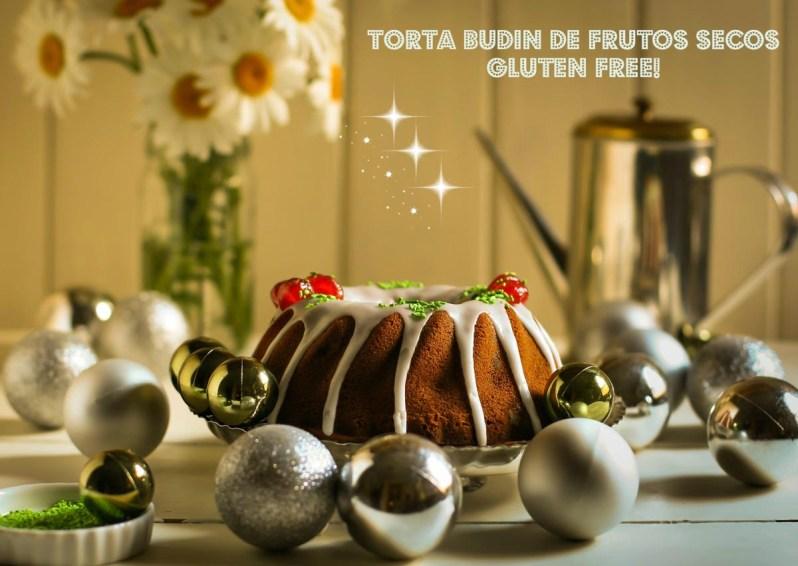 Torta Budín de frutos secos. Gluten free! Para comenzar el nuevo año!