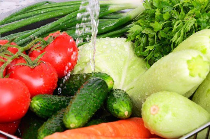 Hervir verduras, sopa de verduras