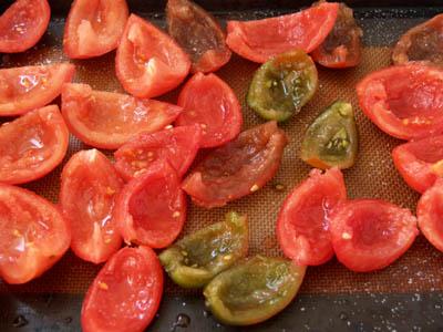 tomates séchées avant cuisson © cocineraloca.fr