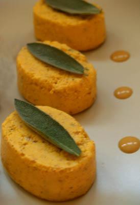 flans de carottes à la sauge © cocineraloca.fr