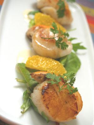 salade de st-jacques © cocineraloca.fr