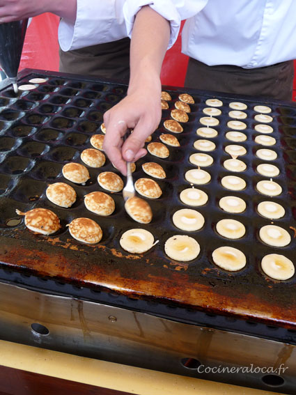 fabrication de poffertjes ©cocineraloca.fr