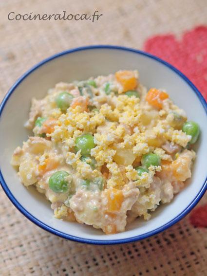 salade russe ensaladilla rusa ©cocineraloca.fr