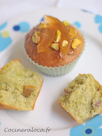 Gâteau à la pistache et cédrat confit 2 ©cocineraloca.fr