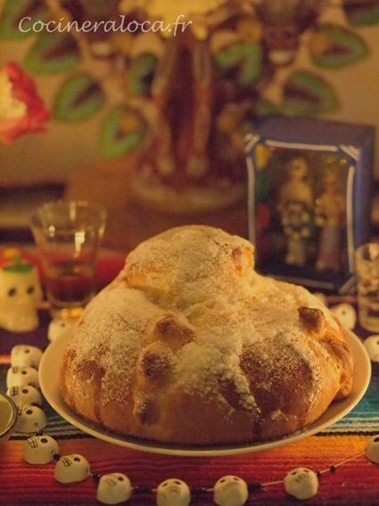 Pan de muerto ©cocineraloca.fr