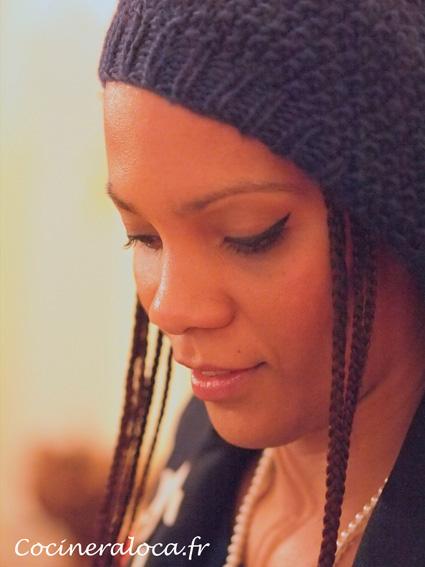 Portrait Sara au bonnet  ©cocineraloca.fr