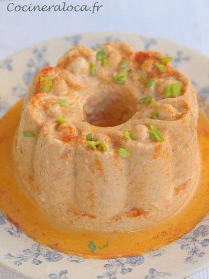 terrine de crevette à la bisque de homard ©cocineraloca.fr
