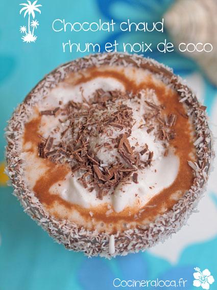 chocolat chaud rhum noix de coco 2 ©cocineraloca.fr