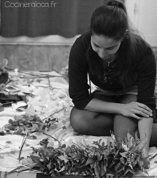 Lei en cours de fabrication ©cocineraloca.fr