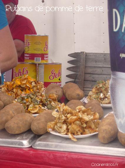 Rubans de pomme de terre frits ©cocineraloca.fr