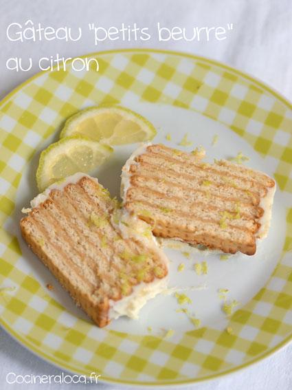 """Gâteau """"petits beurre"""" au citron 2 ©cocineraloca.fr"""