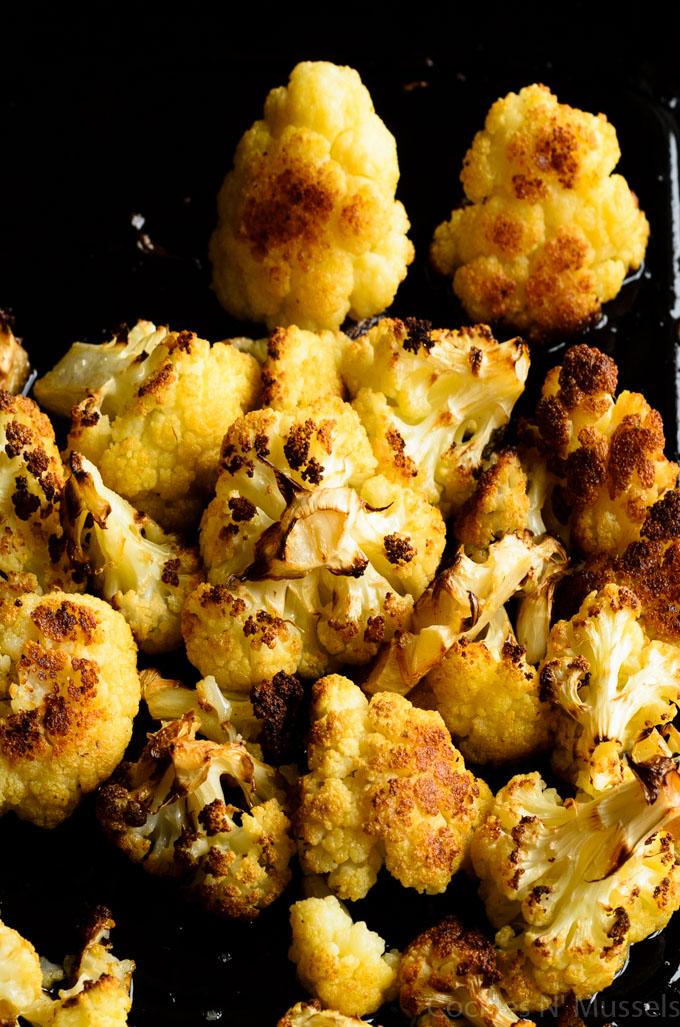 caramelised cauliflower
