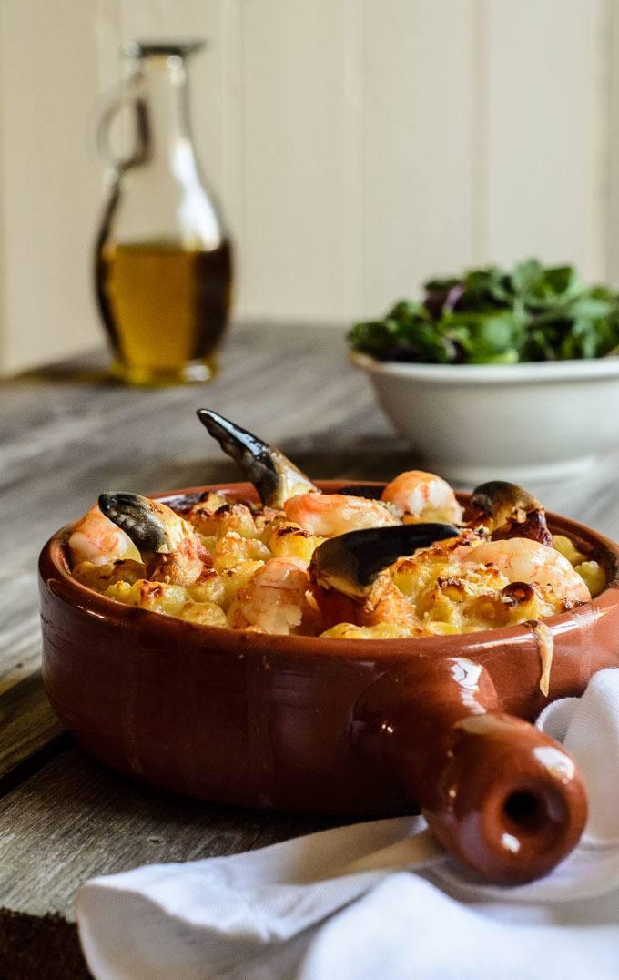shellfish mac and cheese