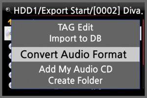 Convert Audio Format