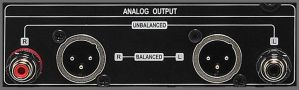 CocktailAudio X40 Symetrischer RCA L/R, Pre-Out, Asymetrischer AES/EBU XLR, L/R, Pre-Out