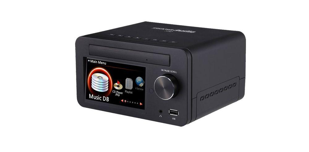 CocktailAudio Musikserver X12 Front Black