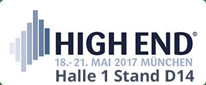 Logo High End München Datum