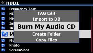 X45 Audio CD brennen