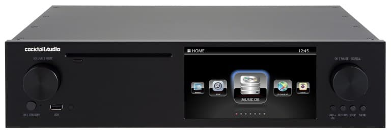 CocktailAudio X50D Musikserver Front