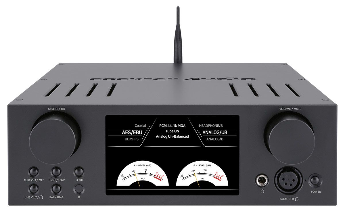 CocktailAudio HA500H Frontseite