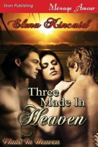 Review:  Three Made in Heaven by Elena Kincaid