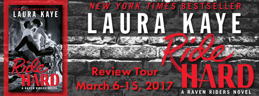 Blog Tour Review & Giveaway:  Ride Hard by Laura Kaye