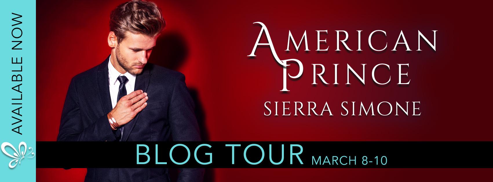 Blog Tour Review:  American Prince by Sierra Simone