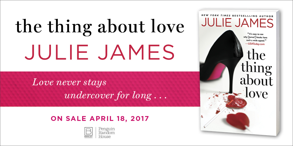 Review: The Thing About Love by Julie James