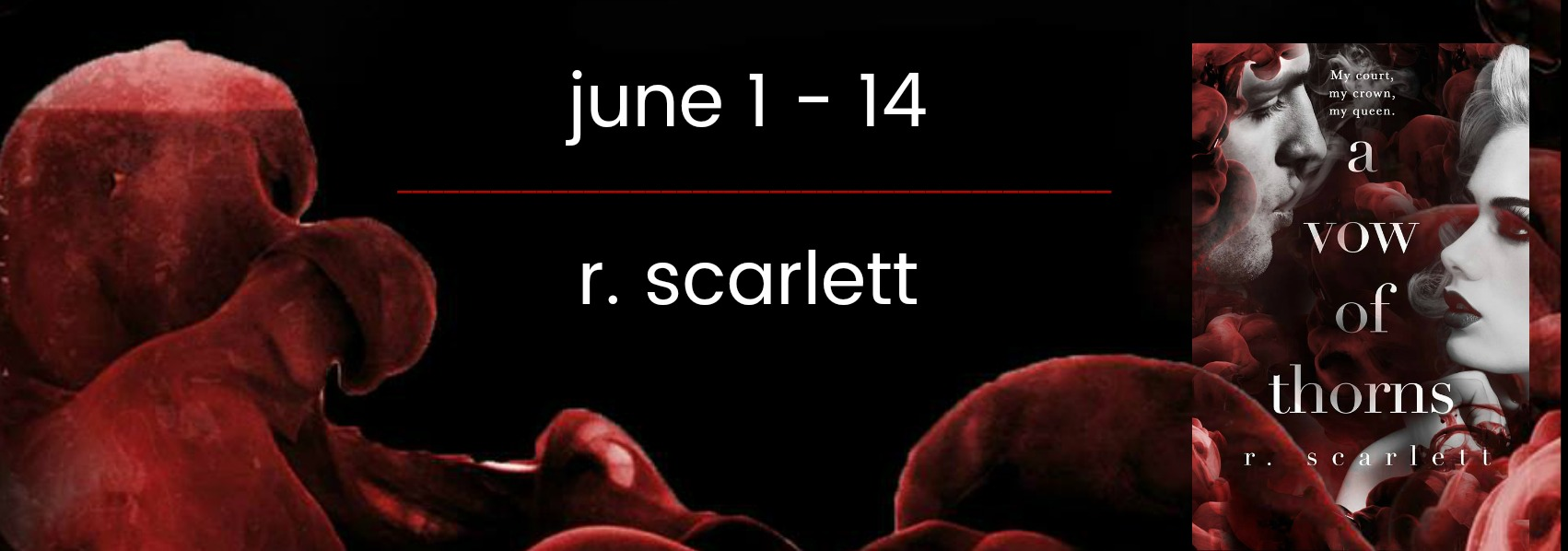 Blog Tour Review:  A Vow of Thorns by R. Scarlett