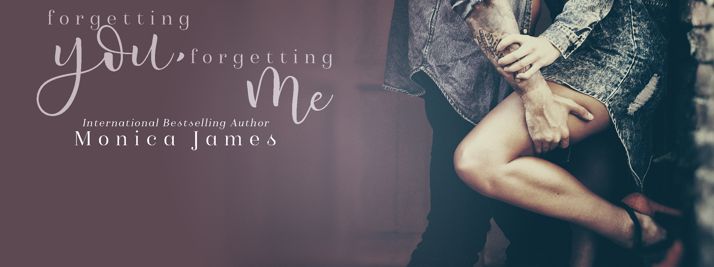 Release Blitz:  Forgetting You, Forgetting Me – Monica James