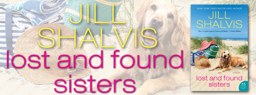 Blog Tour Review:  Lost and Found Sisters by Jill Shalvis