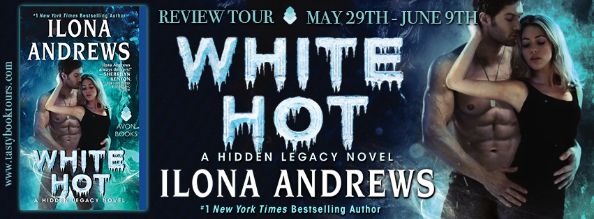 Blog Tour Review & Giveaway:  White Hot by Ilona Andrews