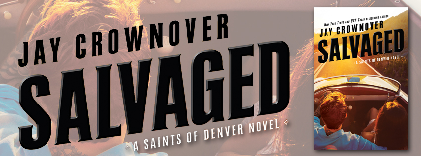 Blog Tour Review &  Giveaway:  Salvaged by Jay Crownover