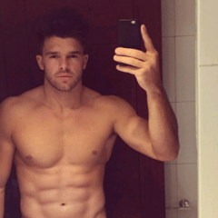 MAN CANDY: Katie Price's Ex Leandro Penna flashes on Webcam [NSFW]