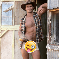 MAN CANDY: Aussie Model and YouTuber Brandy Martignago goes Full Frontal [NSFW]