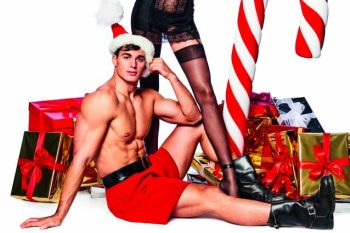 All I Want for Christmas is... Pietro Boselli as Slutty Santa