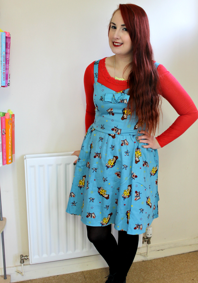 Cocktails in Teacups Fashion Blog Belle Dress Hot Topic 2