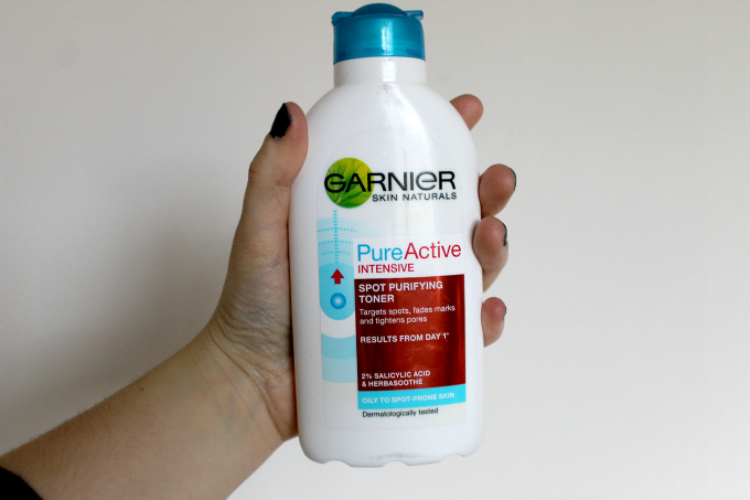 Cocktails in Teacups Five Game Changing Skincare Products Garnier Pure Active Toner