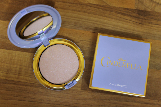 Cocktails in Teacups Friday I'm In Love MAC x Cinderella Beauty Powder in Mysterious Princess