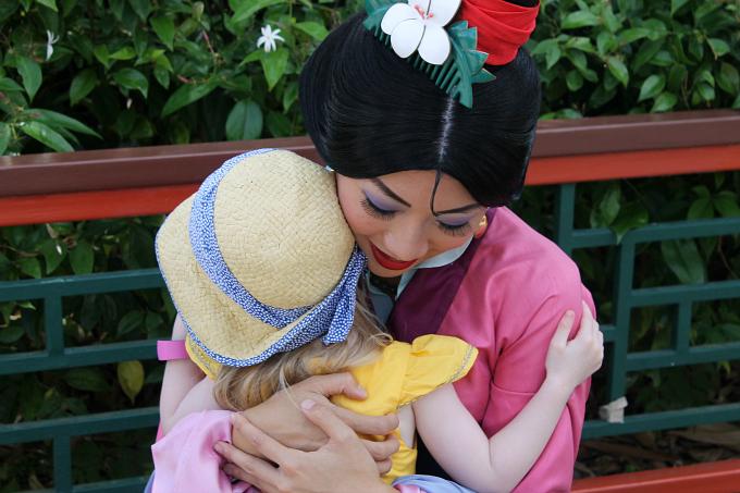 Cocktails in Teacups Walt Disney World Day 6 Epcot Mulan Hugs