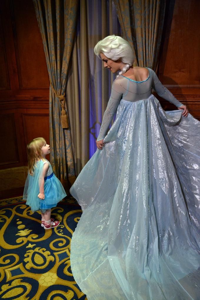 Cocktails in Teacups Walt Disney World Holiday April 2015 Magic Kingdom Elsa