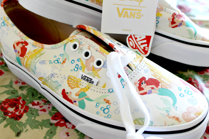 Cocktails in Teacups Disney x Vans collaboration The Little Mermaid Canvas Low tops